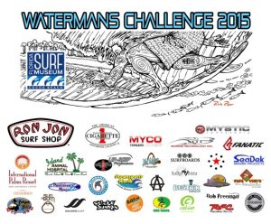 Waterman's Challenge 2015 Logo and Sponsor List