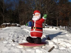 Merry Christmas from Maine! Photo by Derek Clifford.