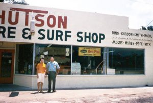 Hutson Hardware and Surf Shop, Pensacola, FL. Submitted by Tom Hutson