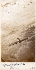 Surfer, Pensacola FL 1941 Photographer unknown. Submitted by Tom Hutson
