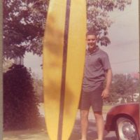 Tom Grow and the first Gulf Coast shaped surfboard