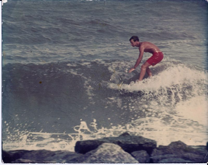 Surfing Inside Canaveral Jetties - Florida Surf Museum